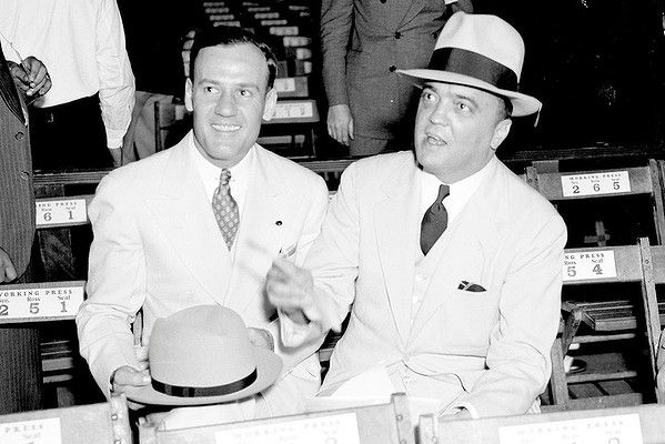 Clyde Tolson and J. Edgar Hoover