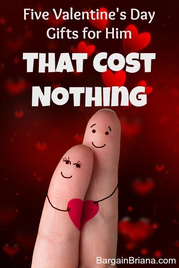 Five Valentines Day Gifts for Him That Cost Nothing :: Finding Valentine's Day gifts for him is not an easy prospect when you have a tight budget. Here are some options that cost nothing at all.