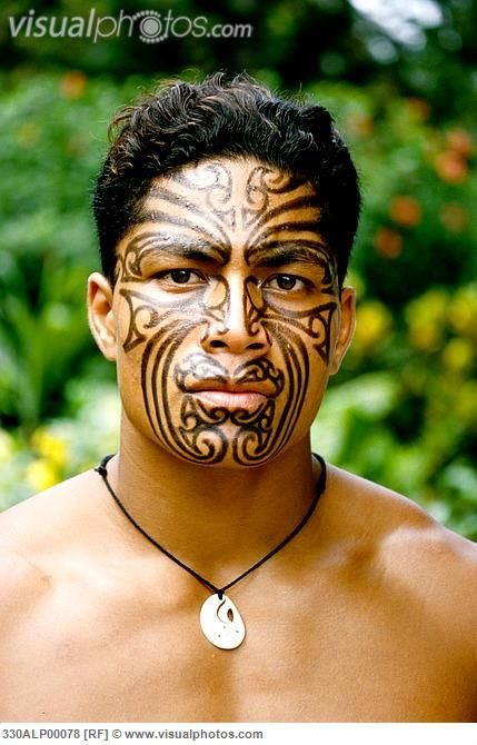Traditional Polynesian Tattooed Men - Bing Images