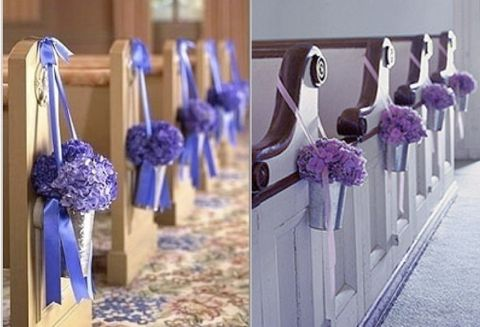 Church Wedding Decorations With a Floral Theme. Read more: http://memorablewedding.blogspot.com/2013/08/church-wedding-decorations-with-floral.html