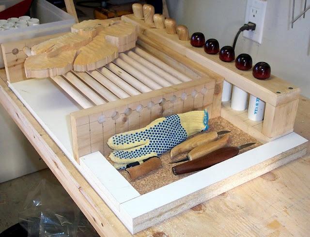 My indoor carving station darren picasa web albums