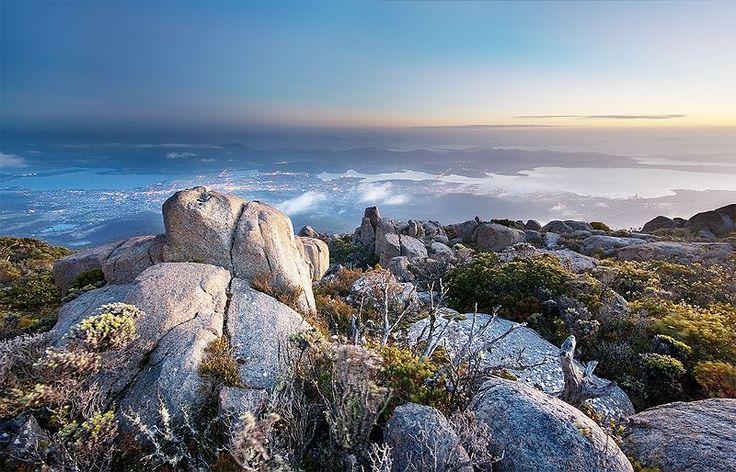 Mt Wellington - Hobart, Tasmania!