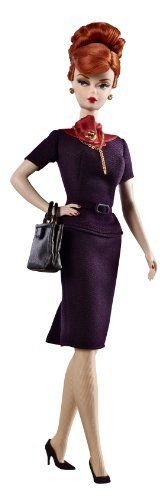 Barbie Collector Mad Men Collection Joan Holloway Doll by Mattel,