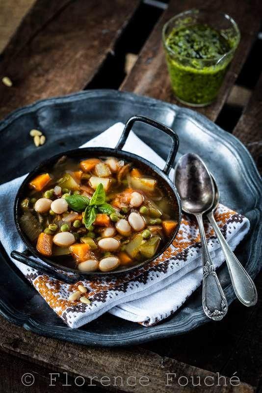 Gourmandises Chroniques: Soupe au pistou ou minestrone - Trait d'union gour...