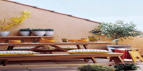 Beautiful Homey Terrace Design
