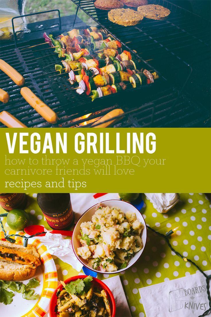 vegan grilling - hosting a great vegan cookout / bbq   boardsandknives.com