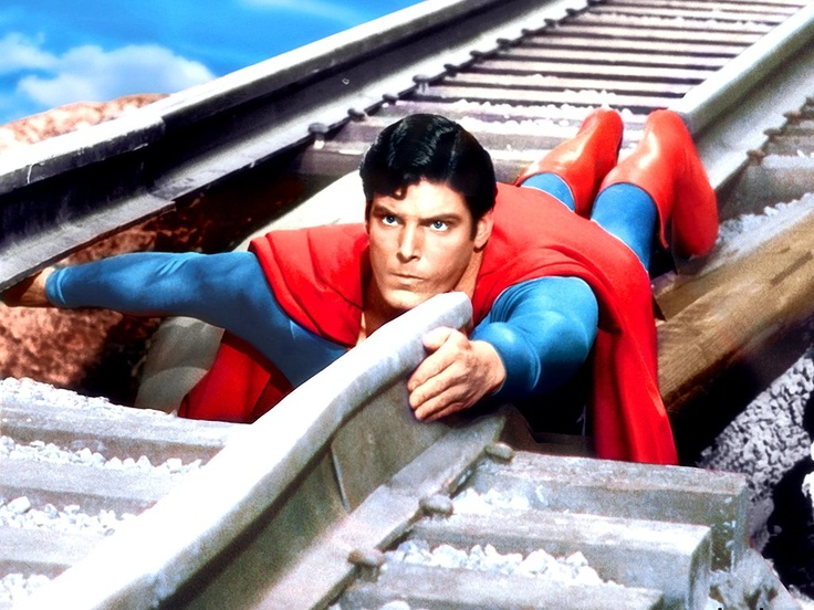 Christopher Reeve as Superman (EPIC part of the movie)