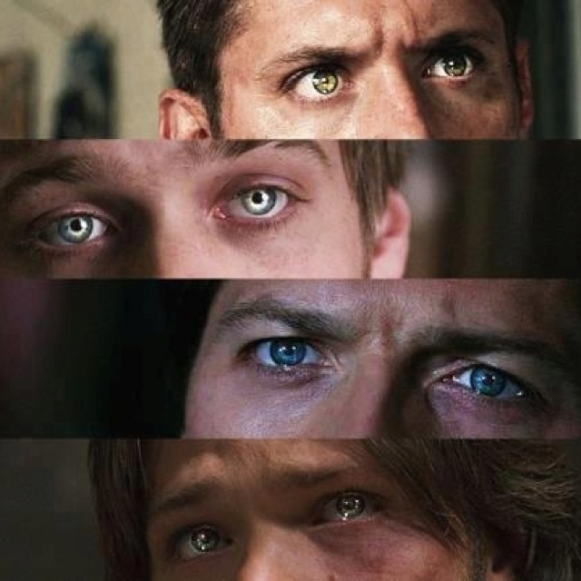eye color and dean winchester Large photo gallery featuring sam winchester magazine images  cw television network's supernatural along with his older brother dean  eye color brown.