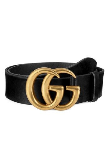 507189579d40 GUCCI RUNNING GOLD LEATHER BELT. #gucci # | Gucci Men