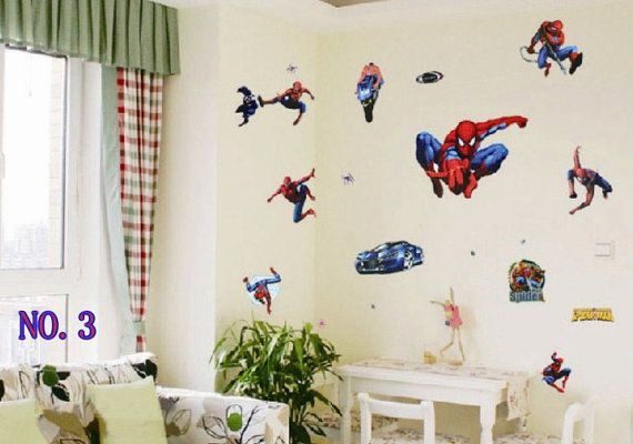Spider-man Spiderman Collection Vinyl Wall Decal by EasyWallDecals
