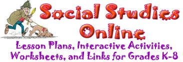 Social Studies Online - lots of k-8 resources