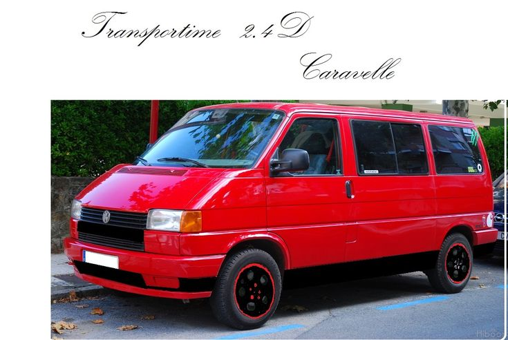 [VW T4 Caravelle 2.4D] TRANSPORTIME