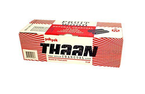 Than Charcoal is natural, Thai-Style log charcoal. It is a long burning, clean and natural alternative to commercial charcoal briquettes. It is made sustainably from orchard grown rambutan fruit wood, which imparts a very mild flavor, letting your grilled food speak for itself. Than... more details available at https://www.kitchen-dining.com/blog/grills-outdoor-cooking/fuel-firestarters/product-review-for-pok-pok-thaan-thai-style-charcoal-logs-5-lb/