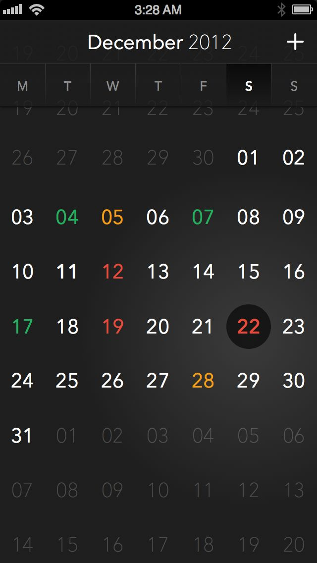 CalendarApp / Tobias Negele