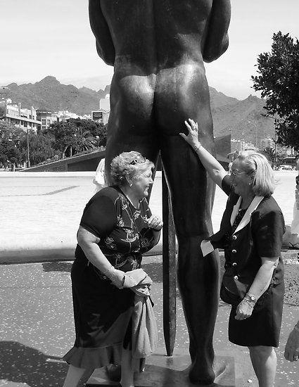 Ah. Memories. Santa Cruz. Tenerife. by David Dutton