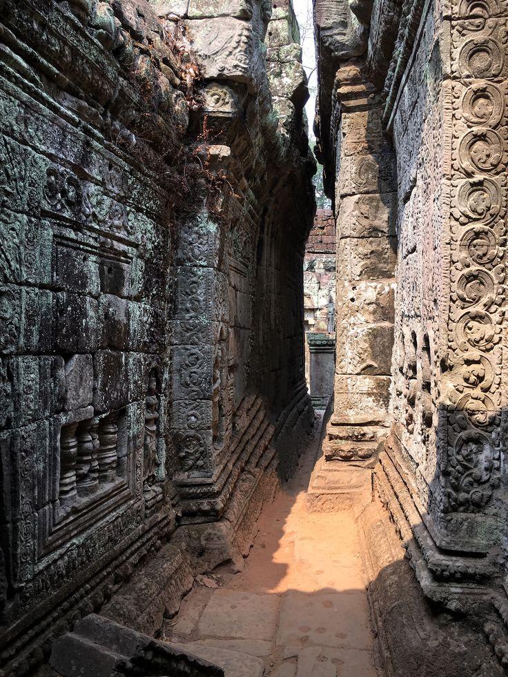 Preah Khan, Siem Reap, Cambodia. 27 March 2016.