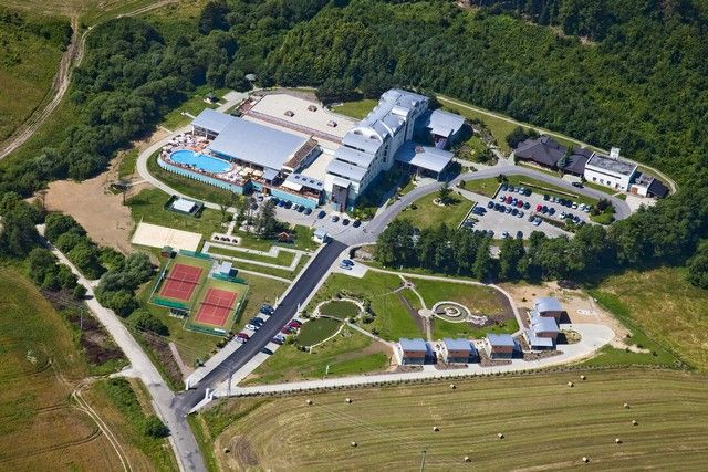 Hotel Kaskády from aircraft   #luxury #holiday #hotel #kaskady #surroundings #aircraft