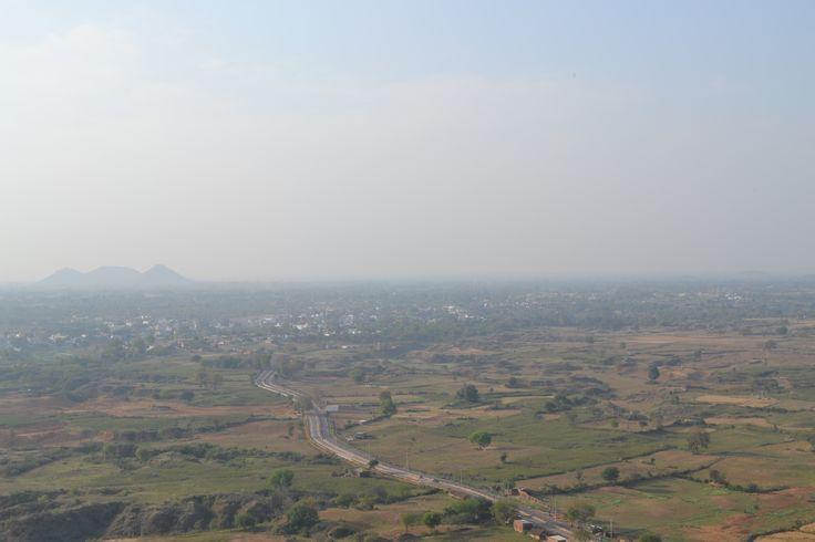 Beautiful view from Hanuman Dhara India->Madhya Pradesh->Chitrakoot  #advertbaba     #photography