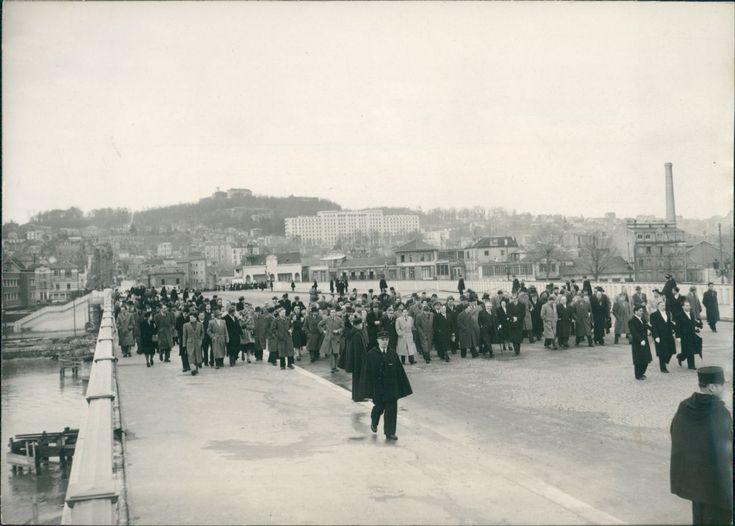 Paris, inauguration du pont de Suresnes Vintage silver print Tirag | eBay
