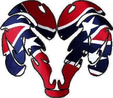fox rebel flag pics | Rebel Flag Ram Decal / Sticker