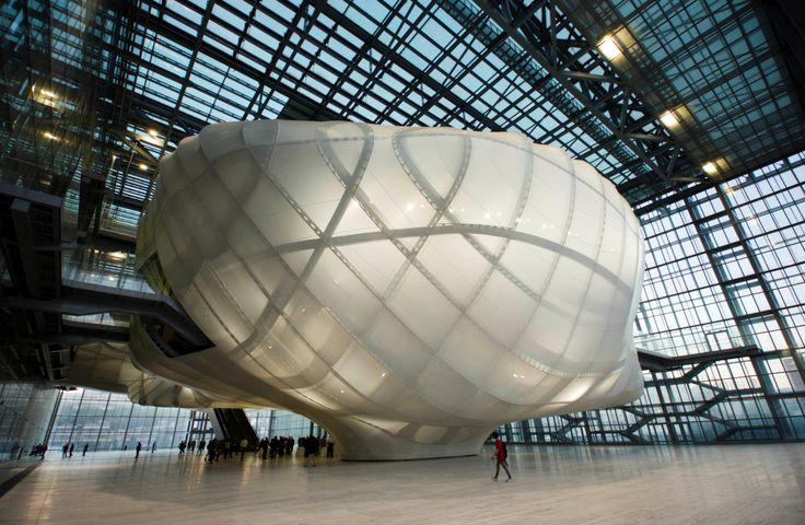 La Nuvola, nuevo Palacio de Congresos de Roma obra del arquitecto Massimiliano…