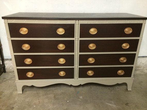 8 drawer dresser credenza buffet or TV stand by SimonSaysSalvage, $595.00