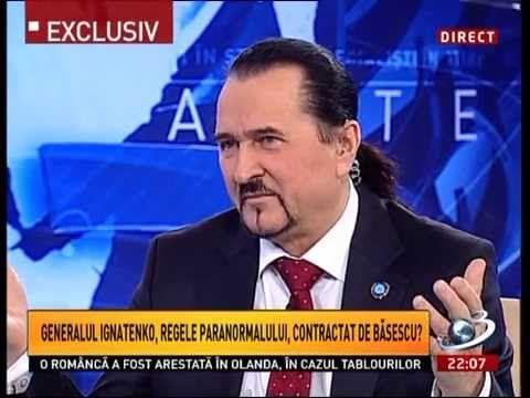 Albert Ignatenco - manipularea paranormală (4.03.2013)