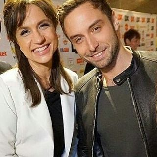 A lot of love and congratulations to the best duo Petra & Måns!!! No doubt, you are the best! @thepetramede @manszelmerlow #månszelmerlöw #manszelmerlow #månsters Pic. @kandis_tv #qxgalan2017
