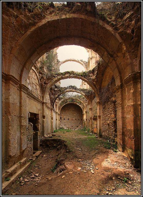 Ruins of Monasterio de Rioseco , Valle de Manzanedo , Burgos  Monastary of Rioseco