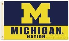 IMAGES OF THE MICHIGAN WOLVERINES BASKETBALL Logo | Large MICHIGAN University Wolverines U of M Polyester Go Blue Logo ...