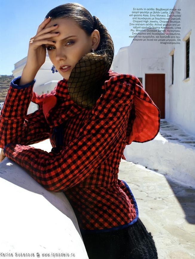 + Karina Gubanova – A good example of what a good model is