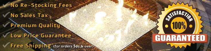 Gas Fireplace Glass, Fireplace Glass Crystals | 30-50% OFF Everyday!