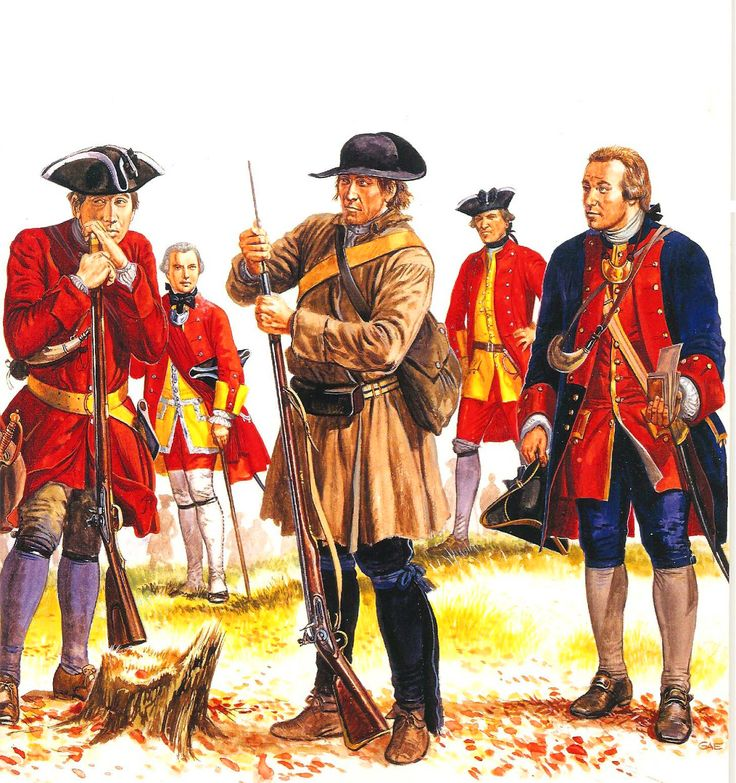 The history of the french and indian war and american revolution