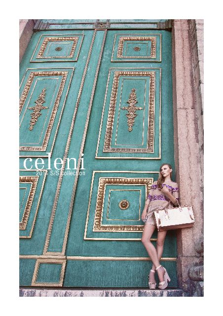Celeni Campaign SS14-La Florentine Collection