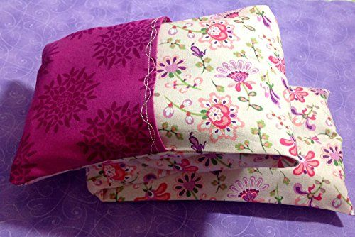Microwave Neck Pillow Fluttering Flowers Buckwheat