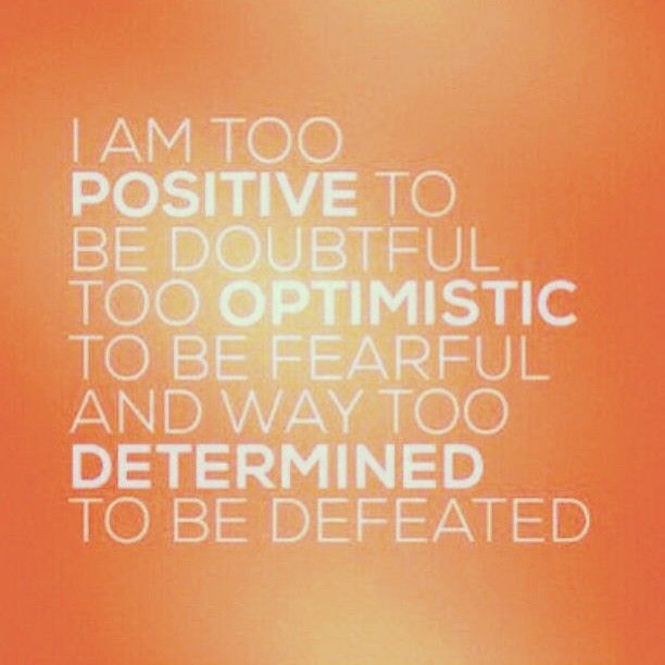 #Determination #PositiveThinking #Fearless #Quotes