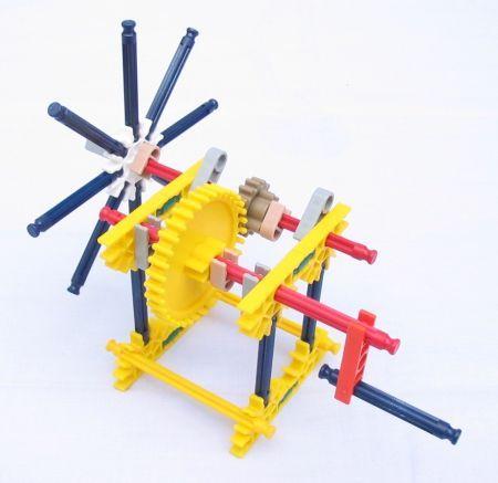 Simple Machines: Knex Fan