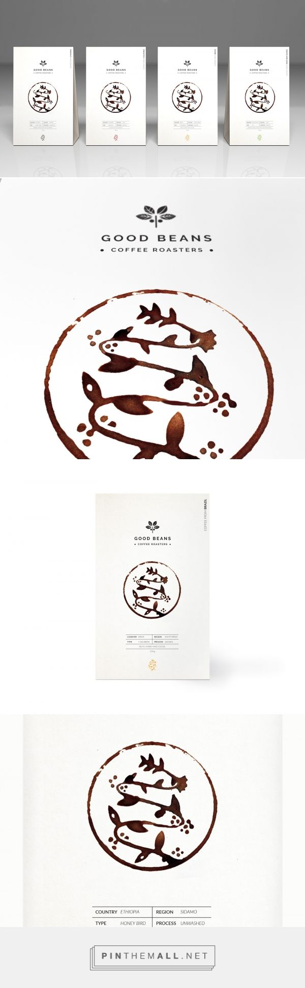 Good Beans - Packaging of the World - Creative Package Design Gallery - http://www.packagingoftheworld.com/2017/02/good-beans.html