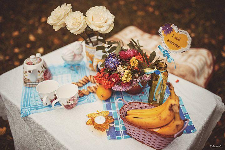 Ситцевая осень: годовщина Марины и Игоря - http://weddywood.ru/sitcevaja-osen-godovshhina-mariny-i-igorja/