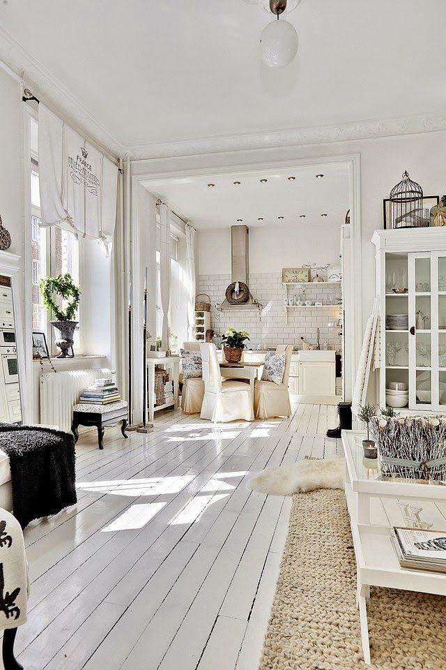 Romántico francés en un apartamento nórdico | My Leitmotiv