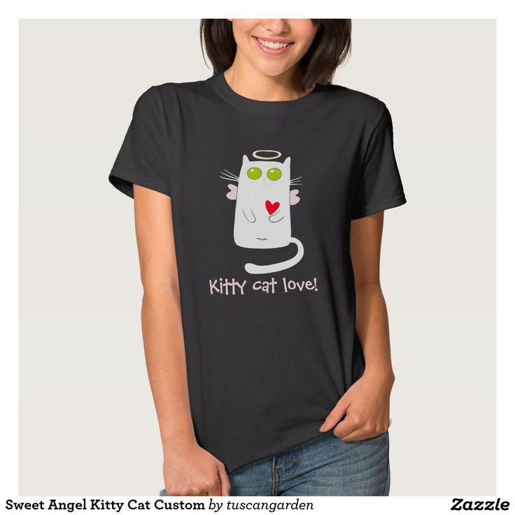 Sweet Angel Kitty Cat Custom Shirt