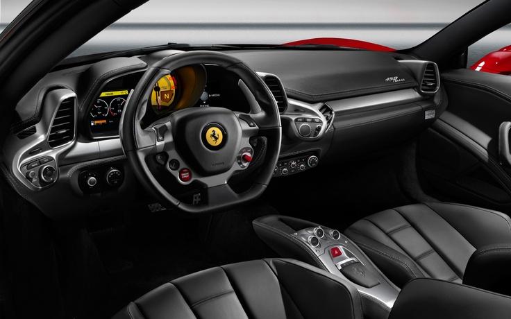 2012 Ferrari 458 Italia interior Photo on August 29, 2012