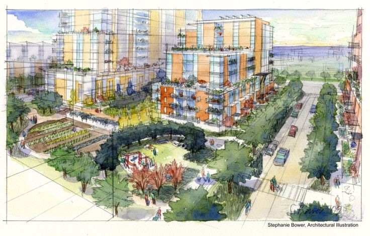 Seattle taking a different approach to public housing that aims to develop urban, mixed-income neighborhoods.