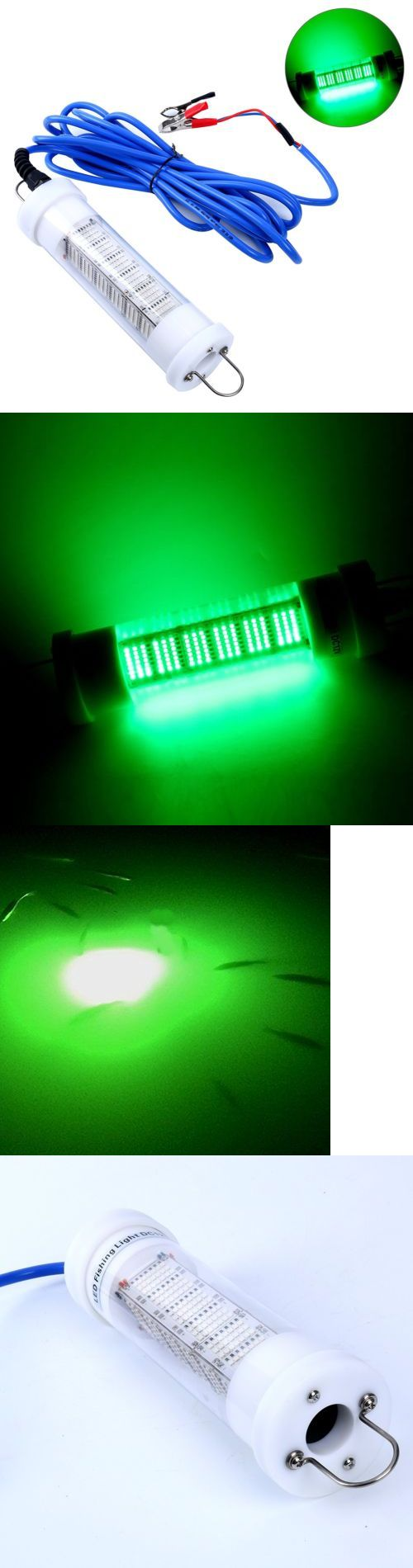 Lights 123489: Green Led 12V 170W Lure Bait Finder Night Fishing Submersible Light Boat Marine -> BUY IT NOW ONLY: $173.99 on eBay!