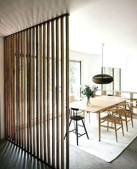 Vertical Wood Slat Wall Wooden Slats Divider Partition System