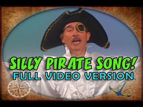 Silly Pirate Song | Sequencing Song | Growing Pattern Song | Educational Songs | Jack Hartmann - YouTube