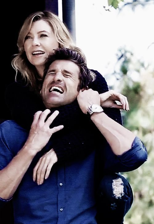 ellen pompeo and patrick dempsey kissing - Google Search