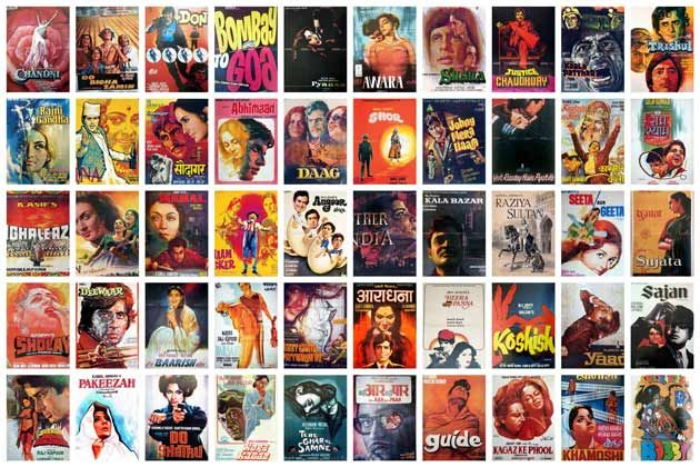 100 years of Indian cinema: Top 50 hand-painted Bollywood posters - IBNLive