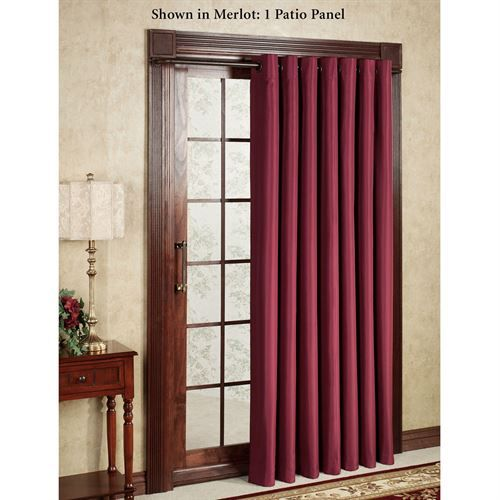 Thermal Elegance Grommet Patio Panel Patio Panel Patio Doors Patio Door Curtains