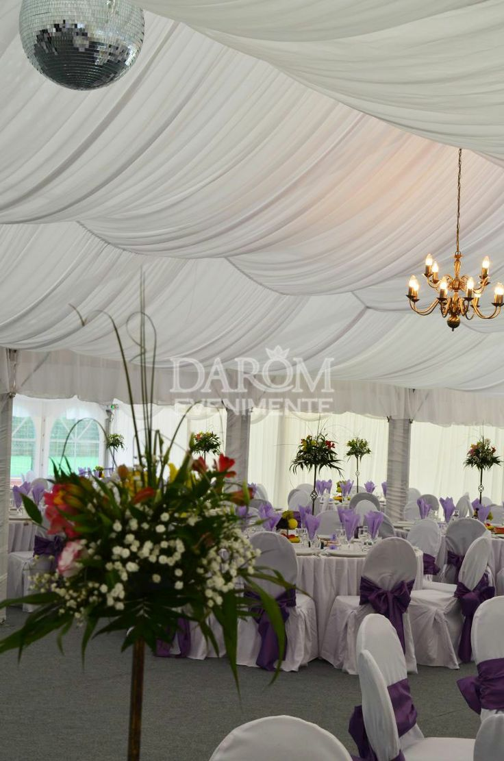 Nunta la cort - Romania. | Wedding tents decor | beautiful wedding tent